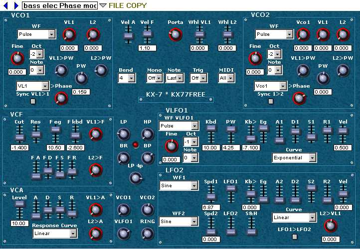 KX77FREE : VST plugins and X Kalensky's music