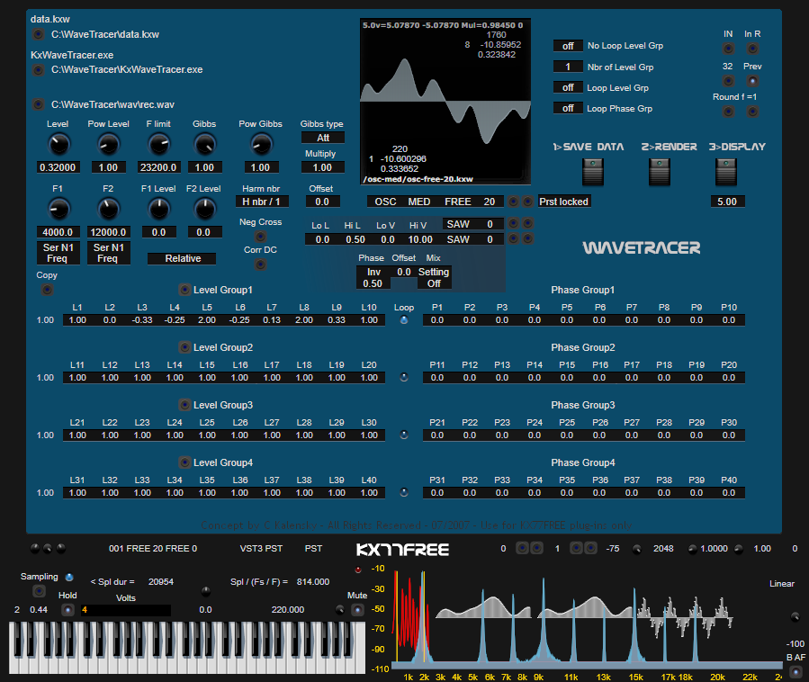 KX77FREE : VST plugins and X Kalensky's music
