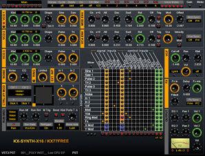 KX-SYNTH-X16 V4 : nouvelle version du séquenceur ! Kx-synth-x16